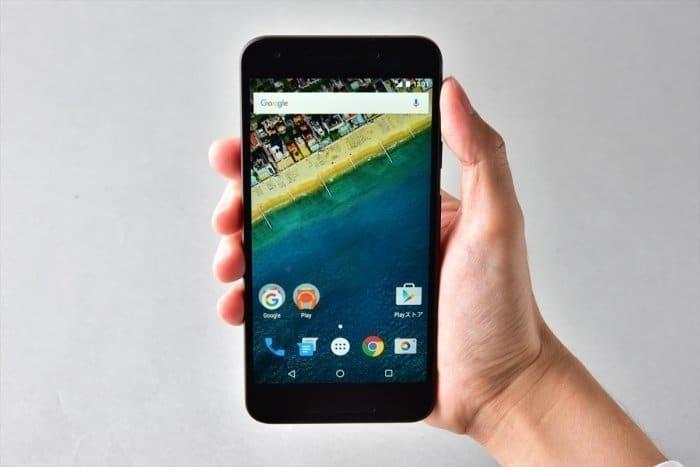 Nexus 5X ワイモバイル