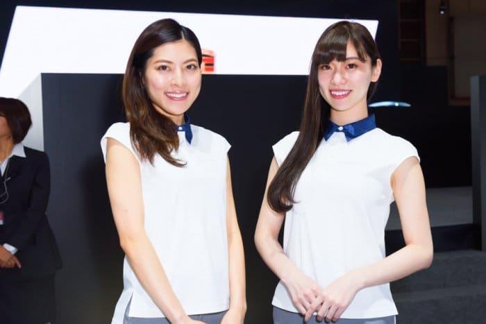 コンパニオン写真ギャラリー1 東京モーターショー 2017