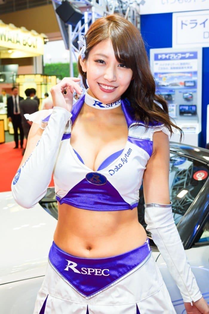 コンパニオン写真ギャラリー2 東京モーターショー 2017