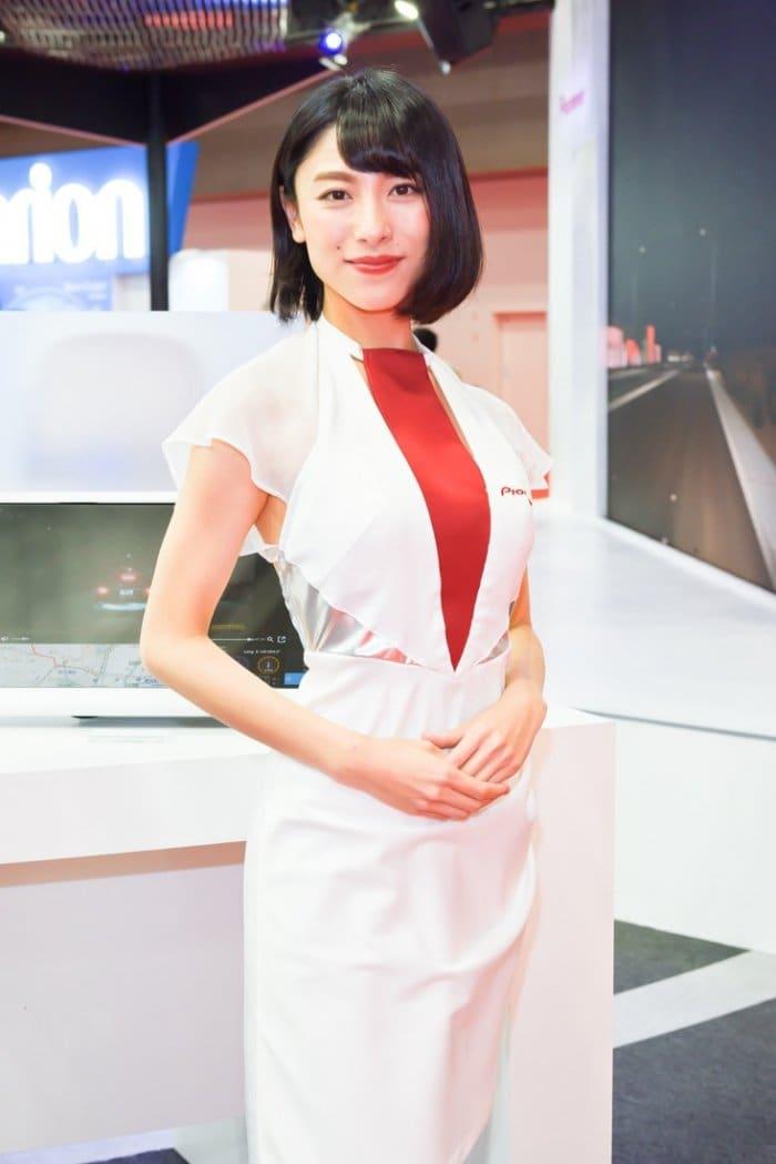 コンパニオン写真ギャラリー8 東京モーターショー 2017