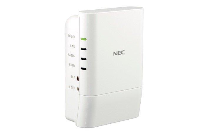 Wi-Fi(無線LAN)中継器の選び方 NEC「Aterm W1200EX」