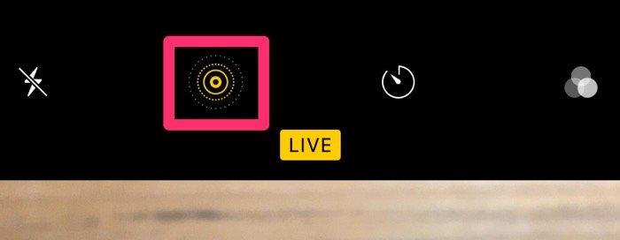 iPhone カメラ シャッター音 消す Live Photos
