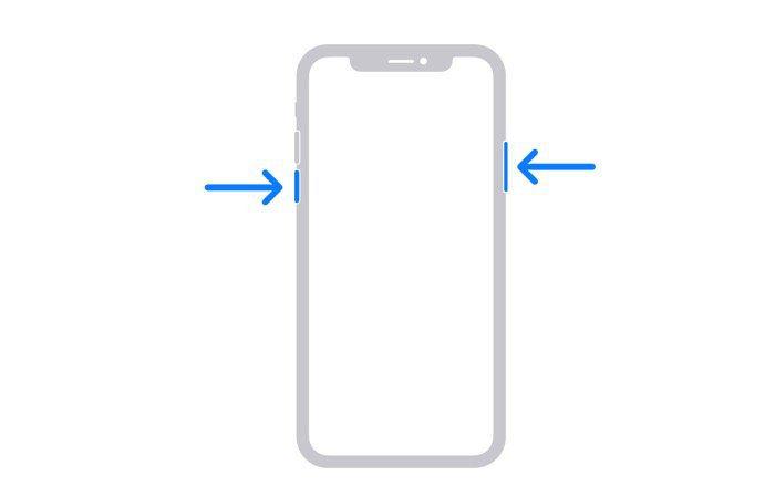 iPhone 再起動の方法