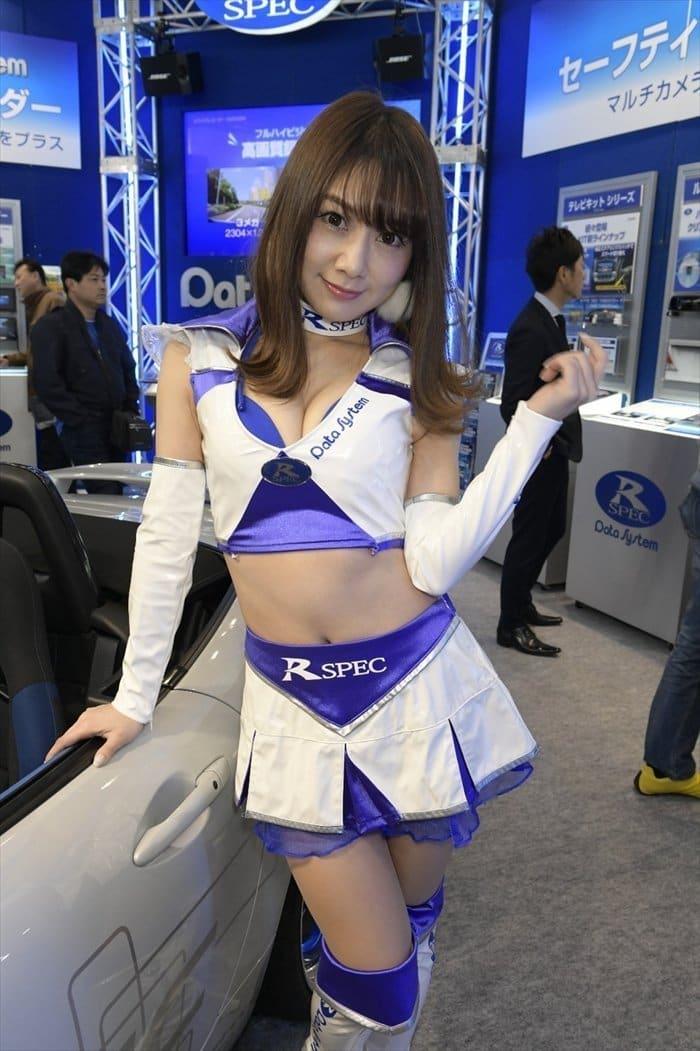 東京オートサロン2018 コンパニオン 画像