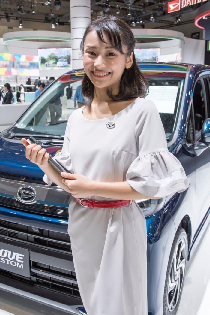 コンパニオン写真ギャラリー4 東京モーターショー 2017