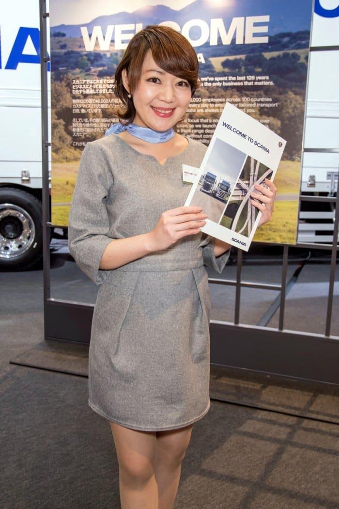 コンパニオン写真ギャラリー7 東京モーターショー 2017