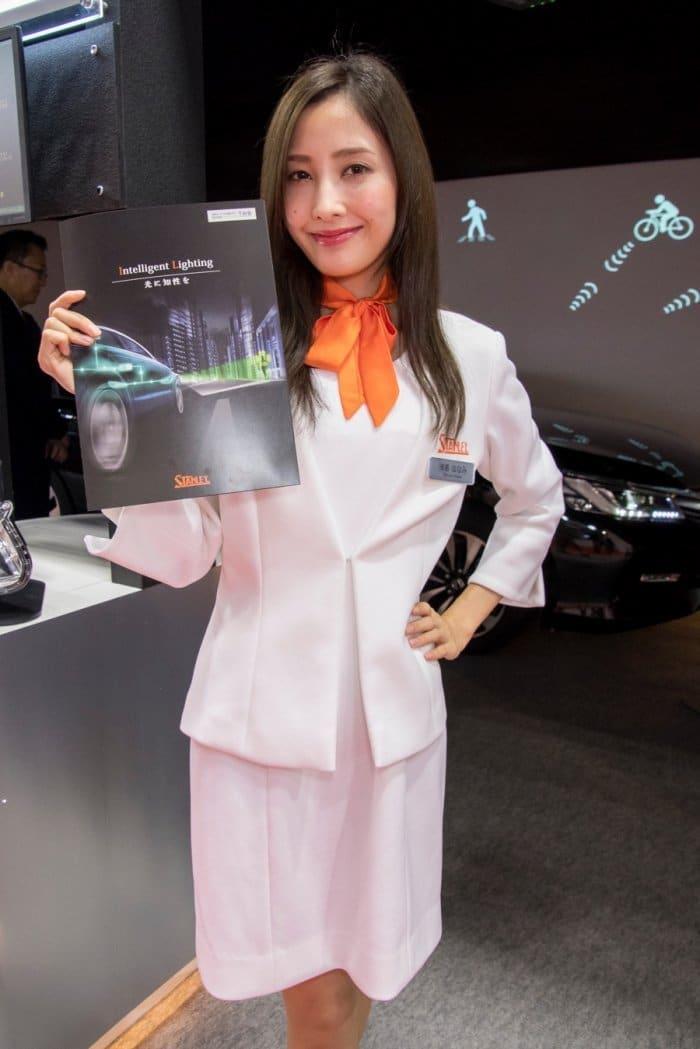 コンパニオン写真ギャラリー9 東京モーターショー 2017