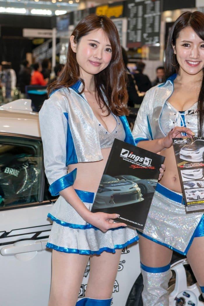 東京オートサロン2019 コンパニオン 写真 画像