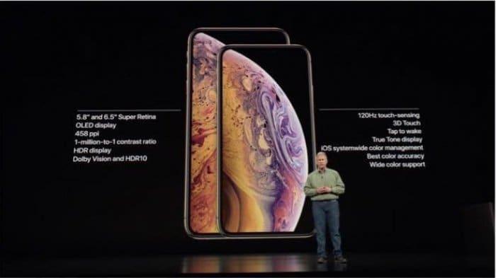 iPhone XS/iPhone XS Max/iPhone XRの特徴・スペックをざっくり比較