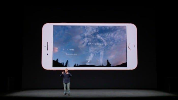 iPhone 8:拡張現実(AR)