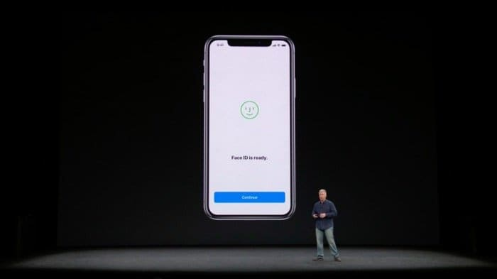 iPhone X:Face ID