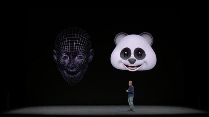iPhone X:アニ文字