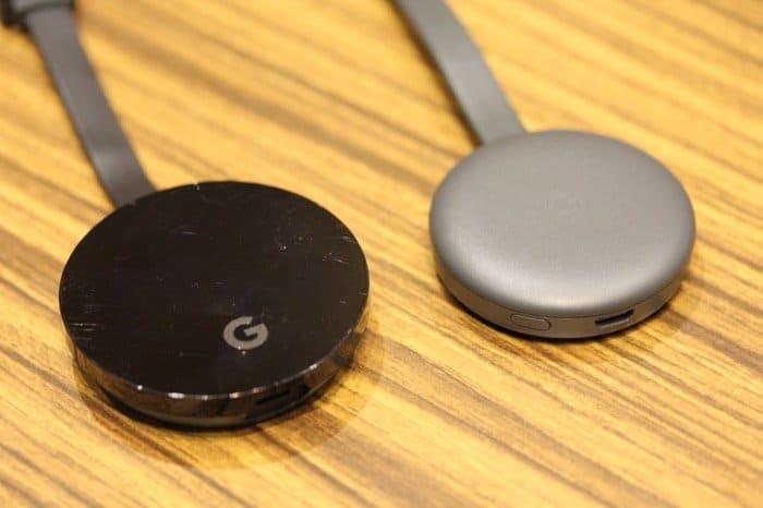 ChromecastとChromecast Ultra