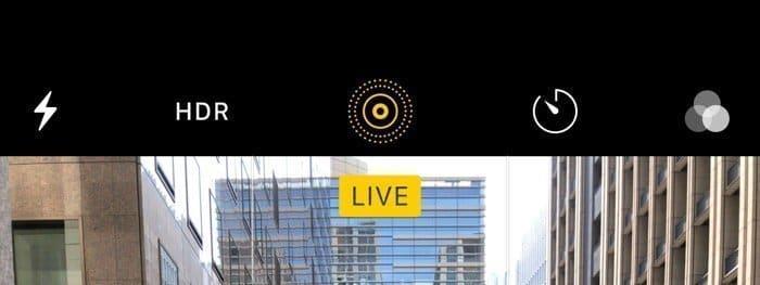 iPhoneカメラ:Live Photos