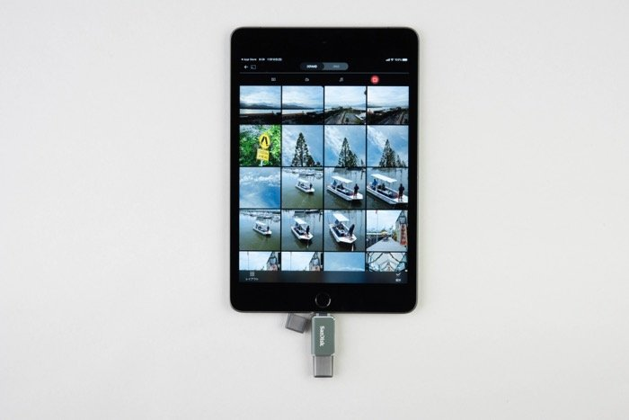 iPad OS 外付けストレージ