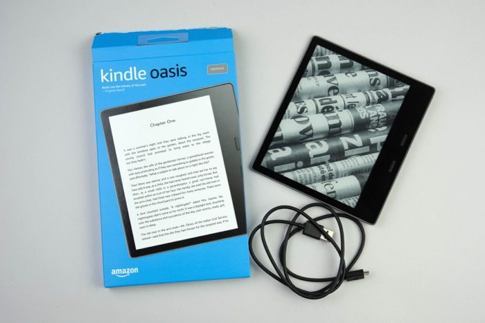 Kindle Oasisレビュー 概要