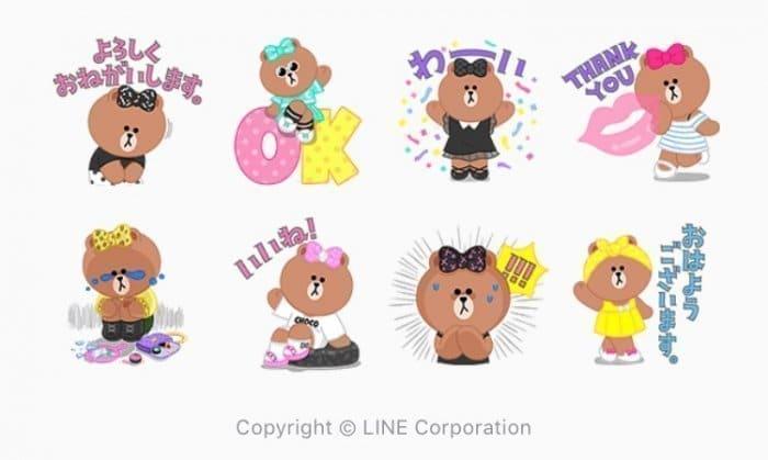 【LINE無料スタンプ】『おしゃれ大好き!CHOCOの日常』が登場、配布期間は10月12日まで