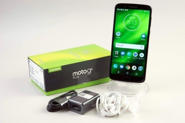 Moto G6 Plus レビュー SIMフリー