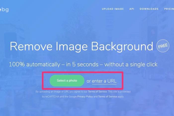 超簡単に切り抜きができるサイト「removebg」