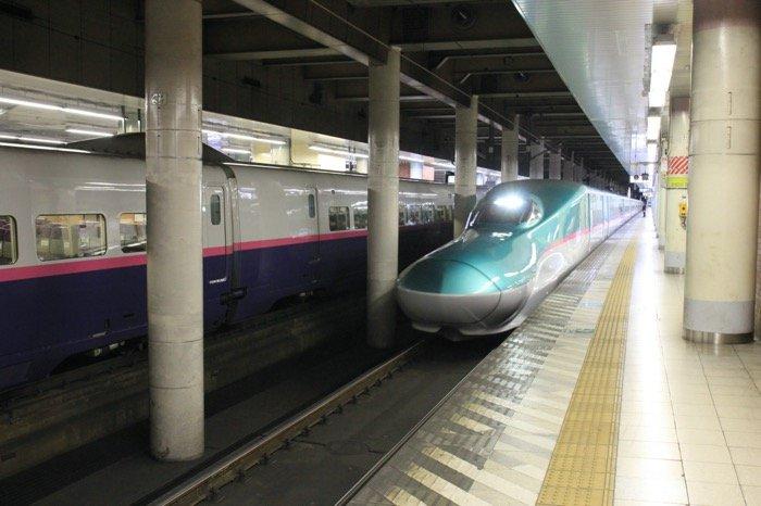 新幹線eチケットサービス 乗車する