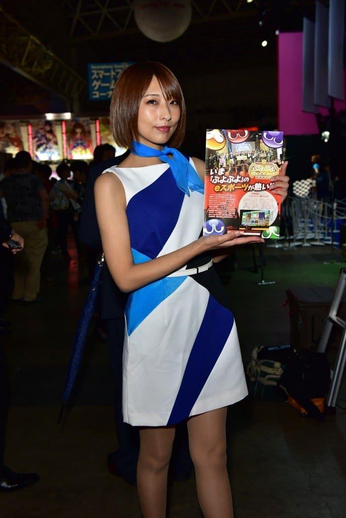 東京ゲームショウ2018 コンパニオン 写真