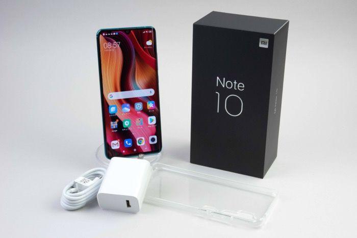 Mi Note 10レビュー ディスプレイ