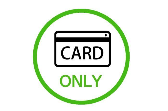 支払い方法がクレジットカード/デビットカードのみ