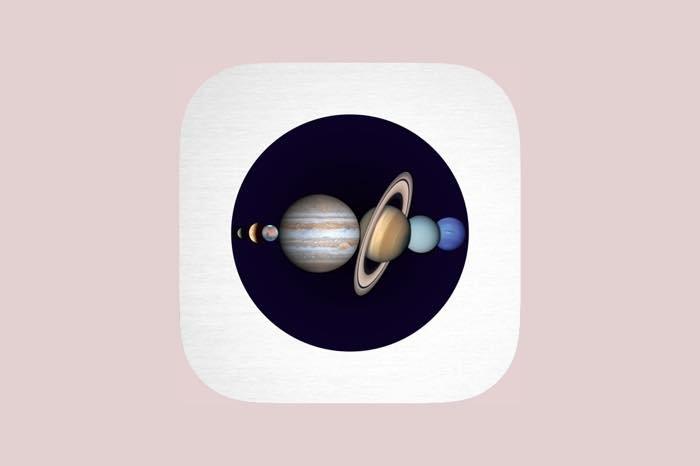 惑星の見え方をシミュレートできる「Planet Book」