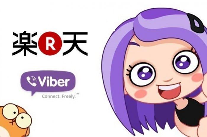 楽天とViber