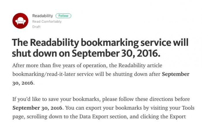 Readability公式ブログ