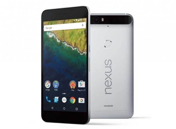 ソフトバンク Nexus 6P