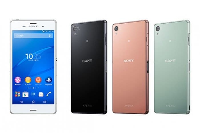 Xperia Z3 ソフトバンク