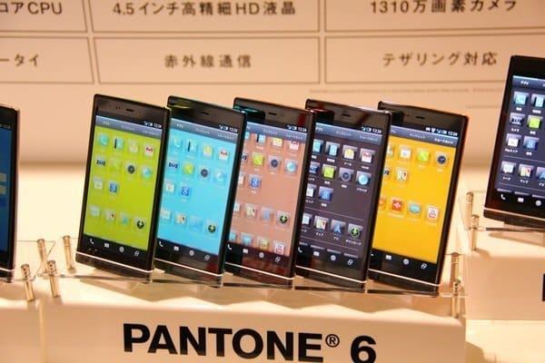 PANTONE 6 SoftBank 200SH