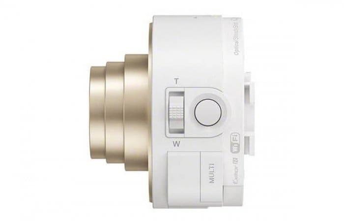 Smart Shot DSC-QX10 White