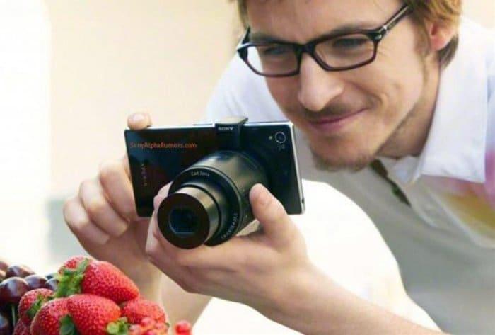 レンズカメラ「QX10」「QX100」