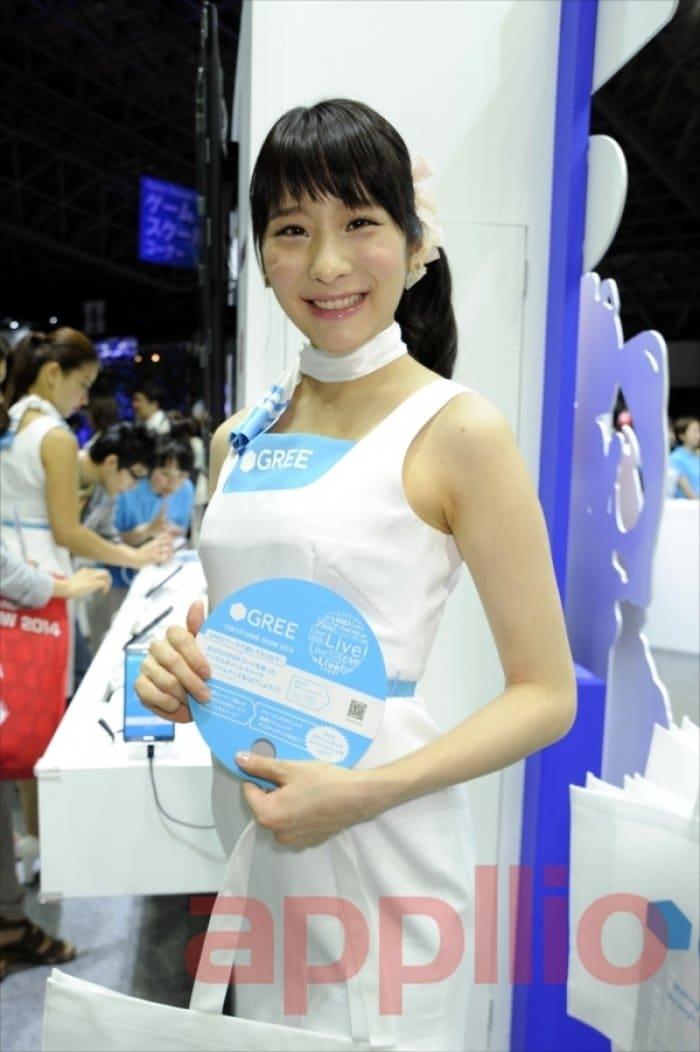 東京ゲームショウ2014 コンパニオン写真