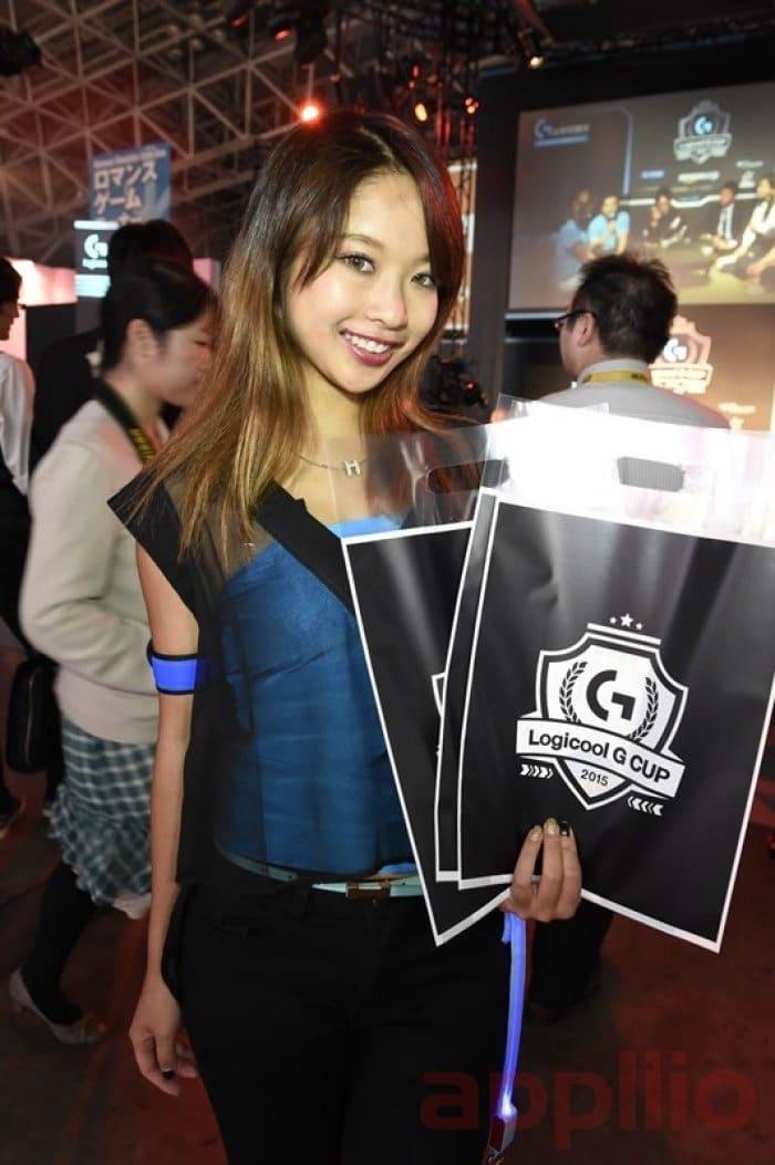 コンパニオン写真:東京ゲームショウ2015