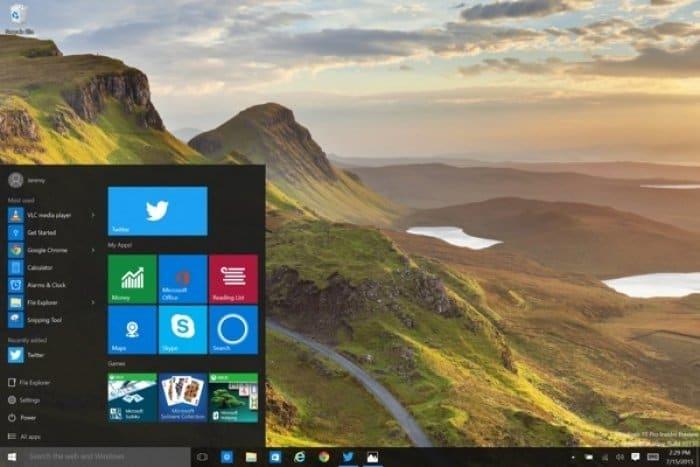 Windows 10 ツイッター