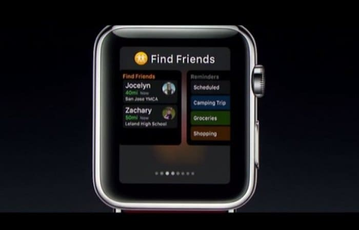 Apple Watch watchOS 3