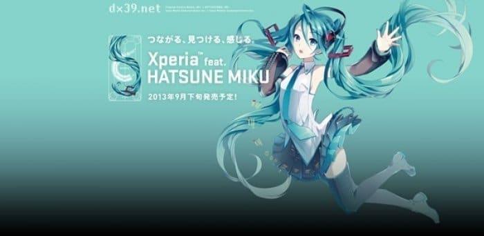 Xperia feat. HATSUNE MIKU SO-04E