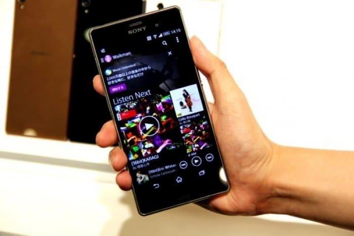 Xperia Z3 SO-01G 発売日