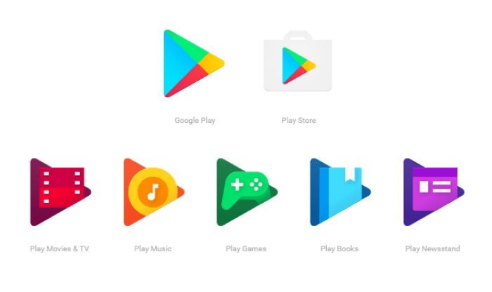 A new look for Google Play family of apps