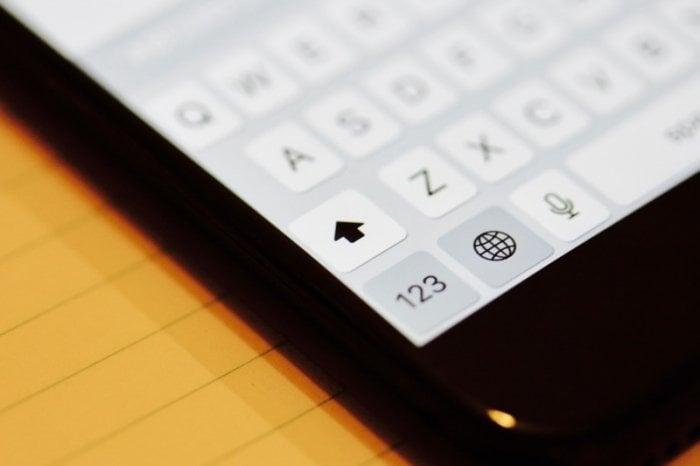 全部わかる? iPhoneでアルファベットを大文字のまま固定して連続入力する3つのテクニック
