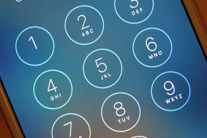 iOS:パスコード