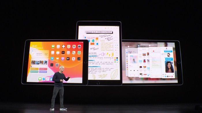 10.2インチの新型iPadは9月30日発売、価格は3万4800円から