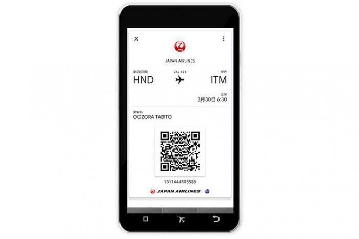 JAL、Android端末にもモバイル搭乗券サービスの提供開始 スマホをかざすだけで搭乗可能に