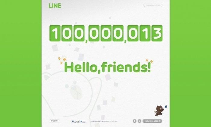 速報:LINEユーザーが1億人突破、サービス公開から約1年7カ月で達成