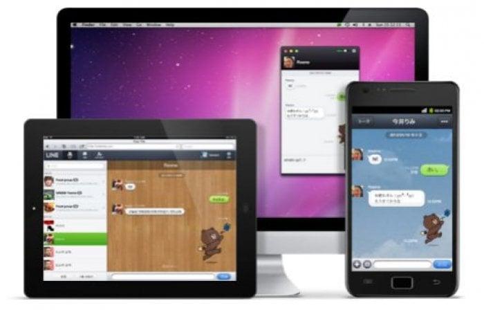 無料通話アプリLINEがマルチデバイスに対応、PC版とタブレット版が追加(iPhone版は準備中)