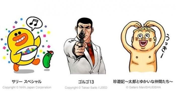 LINEの新スタンプに「珍遊記」「ゴルゴ13」など、ヒヨコの「サリー」も単独で追加