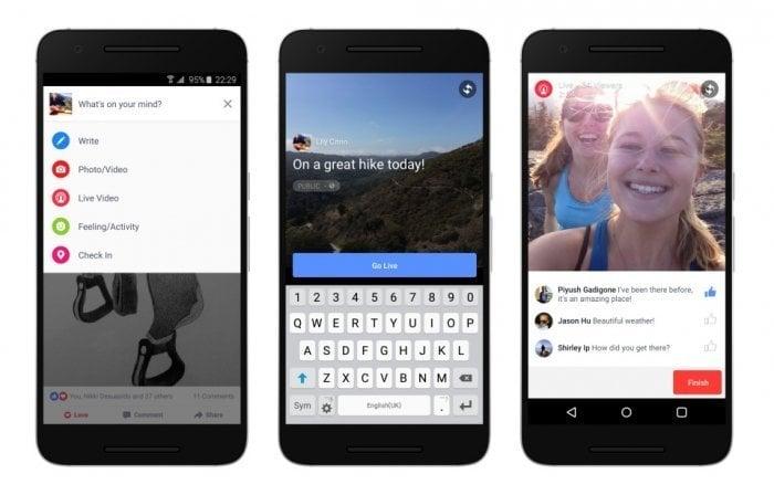 Facebook、ライブ動画機能をAndroidアプリにも開放 iOS版でも提供範囲を30ヶ国拡大
